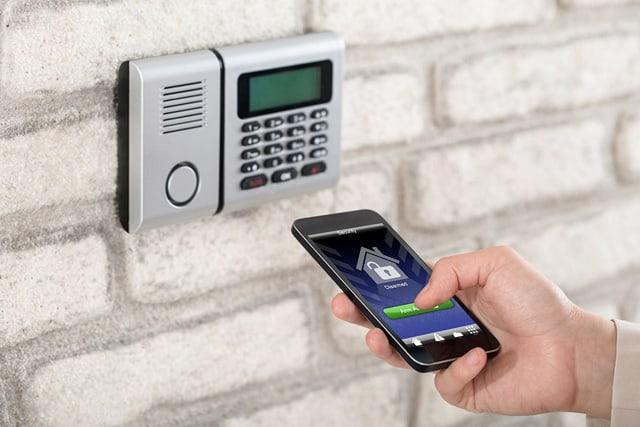 Remote arm / disarm your alarm